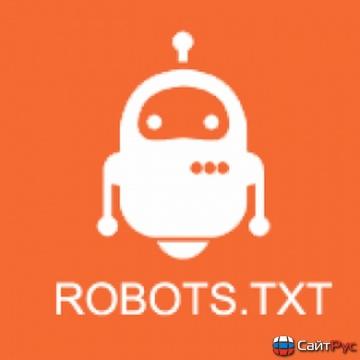Создание файла ROBOTS.TXT