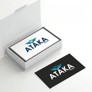 "Логотип для НПФ ""Атака+"""